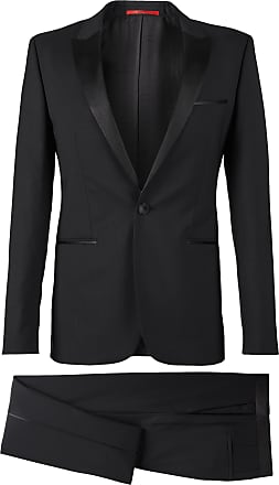 7819e93c HUGO BOSS Stretch Virgin Wool Tuxedo, Slim Fit Aylor/Herys