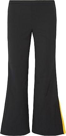 9f60718e7039 Emilio Pucci Emilio Pucci Woman Wool-blend Twill Bootcut Pants Black Size 42