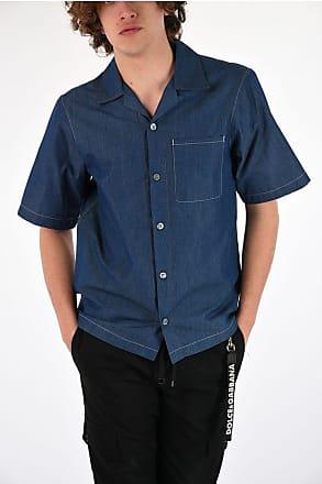 Prada Denim Short Sleeves Shirt size M