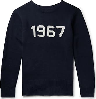 Polo Ralph Lauren Intarsia Wool Sweater - Navy