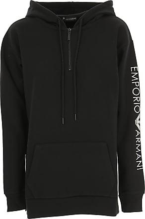 Emporio Armani Sweatshirt für Damen, Kapuzenpulli, Hoodie, Sweats Günstig  im Sale, Schwarz 0fc00dd9a2