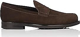 e244daa8bb0 Tod s Mens Suede Penny Loafers - Brown Size 10.5 M
