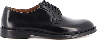 Doucal's Horse Leather Shoes, 44 Black