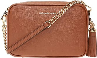 Michael Kors Jet Set Shoulder Bag Womens Brown