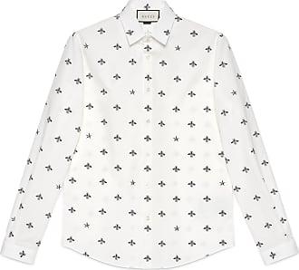 9a0f7040837 Gucci Bee star cotton Duke shirt
