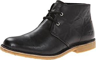 UGG Mens Leighton Chukka Boot, Black, 7.5 M US