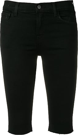 J Brand slim-fit denim shorts - Preto