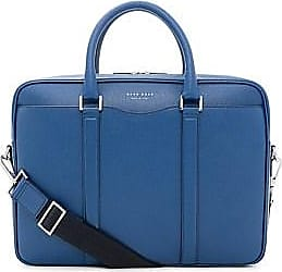 HUGO BOSS Signature Embossed Leather Single Zip Briefcase a6db0241f6079