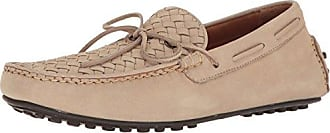 Frye Mens Allen Woven Moccasin, Taupe, 10.5 D US