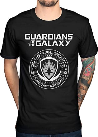 AWDIP Official Guardians of The Galaxy Vol 2 Seal T-Shirt Black