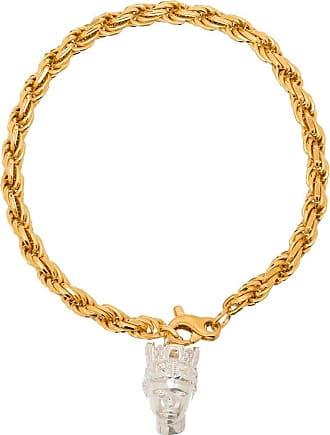 Hermina Athens Pulseira Tyche banhada a ouro - Dourado