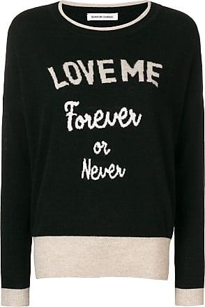 Quantum Courage Suéter Love Me Forever - Preto
