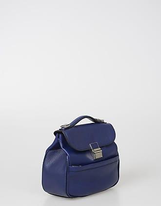 Proenza Schouler Leather MINI KENT Top Handle Bag Größe Unica