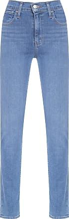 Levi's Calça Jeans 724 High Rise Straight - Azul