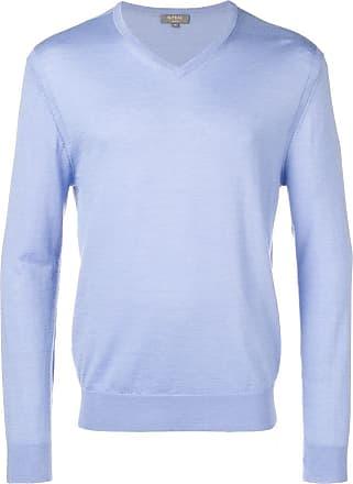 N.Peal The Conduit fine gauge jumper - Blue