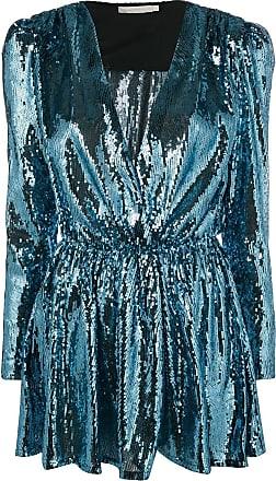 b1f2ac1bfff0 Amen Vestito corto con paillettes - Di Colore Blu