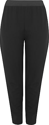 Yours Clothing Clothing Womens Tapered Trousers Size 20P Black