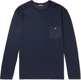 Zimmerli Cotton And Modal-blend Pyjama T-shirt - Midnight blue
