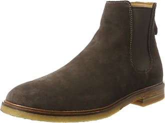 Clarks Mens Clarkdale Gobi Chelsea Boots, Brown (Dark Brown Suede), 11 UK