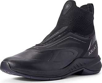 Ariat Womens Ascent Paddock Boots in Black, B Medium Width, Size 3.5, by Ariat