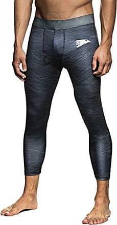 db25ff8e549fdb LEIF NELSON Gym Herren Fitness Hose Leggings Trainingshose Fitnesshose  Laufhose Jogginghose LN6310; Größe XXL,