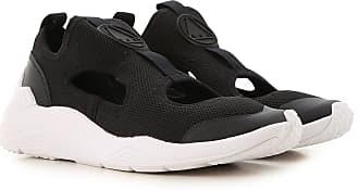 Alexander McQueen Sneakers for Women On Sale, Black, Textile, 2017, 11 5 6 7 8