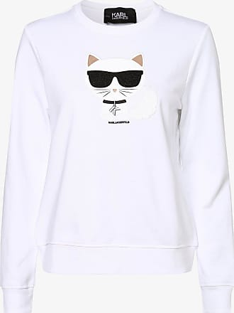 Karl Lagerfeld Damen Sweatshirt weiss