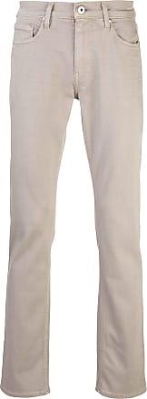 Paige Calça jeans slim Federal cintura média - Neutro
