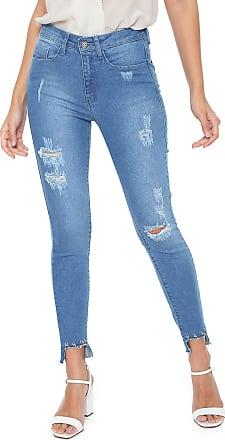 Iodice Calça Jeans Iódice Skinny Metais Azul