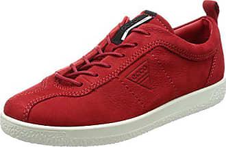 202cf730e87f39 Ecco Damen Soft 1 Ladies Sneaker Rot (Chili Red)