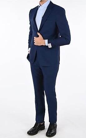 Corneliani notch lapel graph check MANTUA 2-button suit size 50