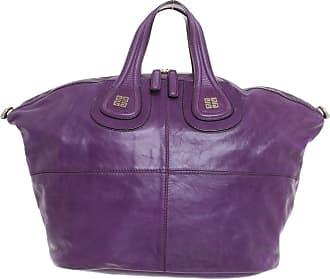 Givenchy gebraucht - Givenchy-Nightingale Medium aus Leder in Violett - Handtasche - Damen - Leder