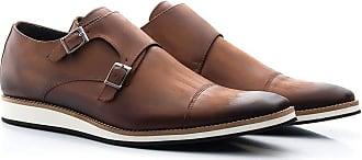 Di Lopes Shoes Calçado Masculino Social em Couro (43, Wisky)
