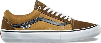 Vans Old Skool Pro Mens 11.5 Two Tone Teak Medal Bronze Skateboarding Shoes