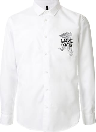 Blackbarrett Camisa Love Rats - Branco