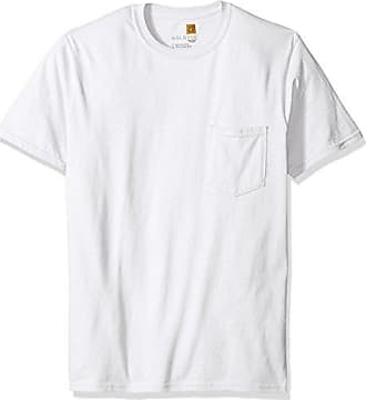 Gold Toe Mens Pocket T-Shirt, White, Large