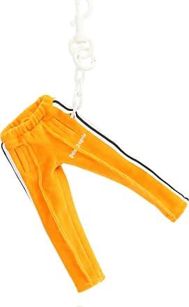 Palm Angels Logo Keyring Mens Orange