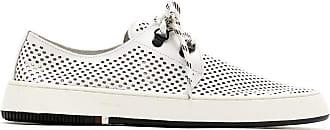 Osklen perforated Soho sneakers - White