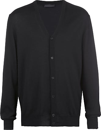 Wardrobe.NYC x The Woolmark Company Release 05 knitted cardigan - Black