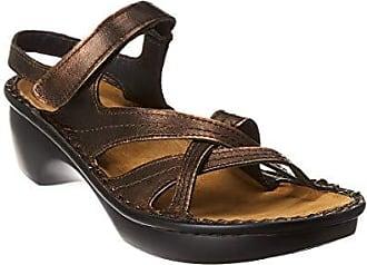 Naot Naot Womens Paris Wedge Sandal, Burnt Copper, 35 EU/4 M US