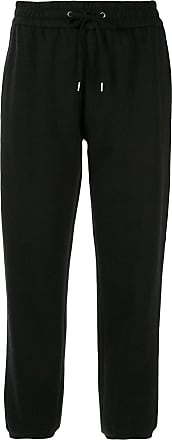 James Perse drawstring waist trousers - Black