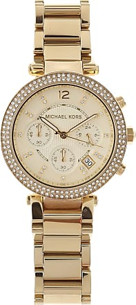a595d512bd9 Michael Kors Orologio Donna On Sale in Outlet, Yellow Gold, Acciaio  Inossidabile, 2017