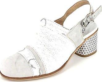 b907e7cf714e Charme Slingpumps Sandali Donna Größe 39, Farbe  Grau - Weiß