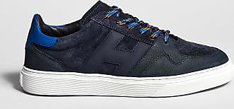 Reposi Calzature HOGAN H365 - Sneakers nabuk e suede blu