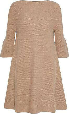N.Peal N.peal Woman Ribbed Cashmere Top Sand Size M