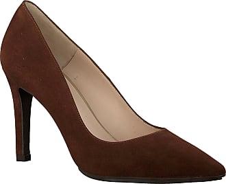 Details zu Dunkel braune High Heels, Pumps, Wildleder Leder, Gr.37, aus Italien