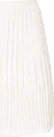 Dion Lee Plissierter Rock - Weiß