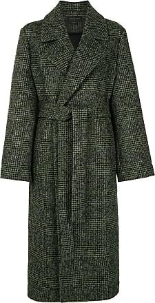 Karen Walker Dark Matter houndstooth-pattern coat - Green