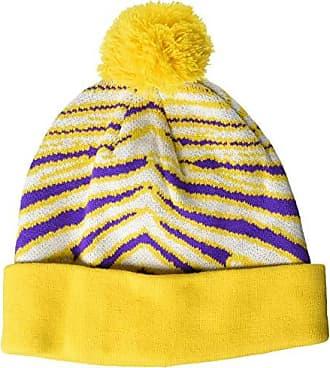 c8c22a97daf Zubaz Mens Knit Winter Stocking Beanie Pom Hat