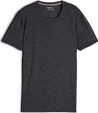 intimissimi Mens Short-Sleeve T-Shirt in Stretch Merino Wool